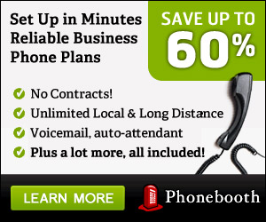 Switch to Phonebooth and save 60% on phone service