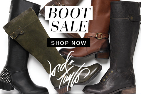 Lord & Taylor Columbus Day Sale: Buy More Save More on boots! 25% on 1 pair, 30% on 2 or more!