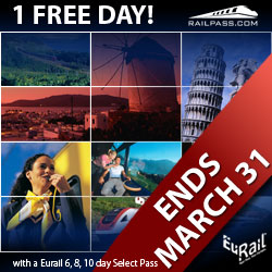 Eurail Early Bird Offer 2007