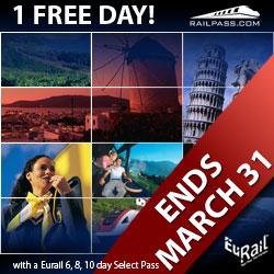 Eurail Early Bird Offer 2007