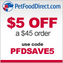 PFDSAVE5 - $5 off $45 - 125x125