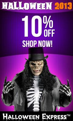 Halloween Express Coupon Codes and Discounts - Halloween Coupons