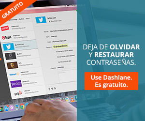 Deja de olvidar y restaurar contrase�as.. �Use Dashlane. Es gratuito.