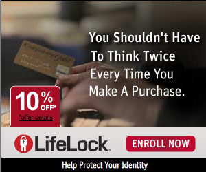 LifeLock Identity Theft Prevention - Save 10%