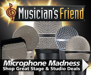 Microphone Madness at MusiciansFriend