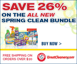 Save 26%-new bundles at GreatCleaners.com-300x25