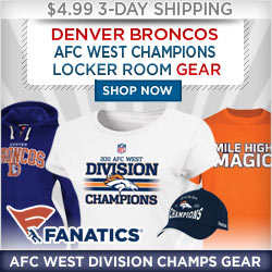Shop for Broncos 2011 Division Champions Gear