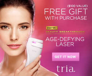 New! Tria Age-Defying Laser with Free Gift  ($100 value)