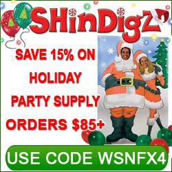 ShindigZ.com Free Ground Shipping on $27+
