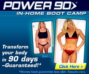 TOTAL BODY TRANSFORMATION IN 90 DAYS – GUARANTEED with Tony Horton's Power90 Boot Camp