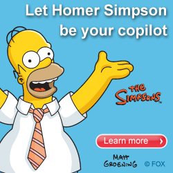 Driving with Homer is as easy as 1,2...doh!