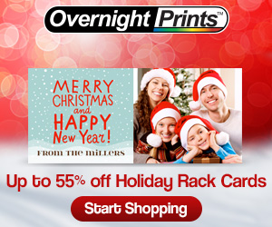 Up to 55% Off Rack Cards