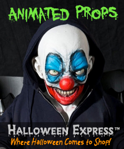 Animated Props at Halloween Express