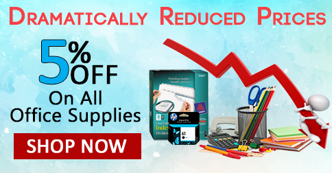 Dramatically Reduced Prices On All Office Supplies