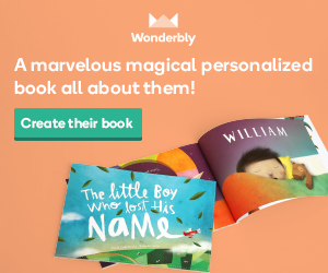Personalized books by Lost My Name