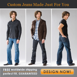 indiDenim_Mens Custom jeans made just for you!