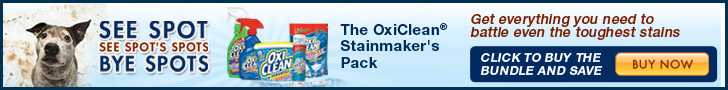 OxiClean Stainmaker's Pack at GreatCleaners.com