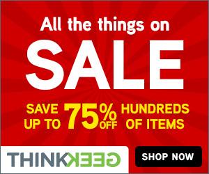 ThinkGeek 75% Off