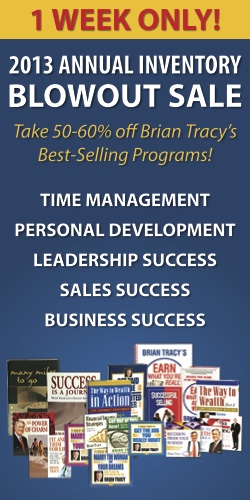 Brian Tracy Blowout Sale