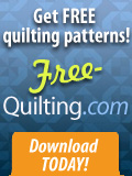 Free quilting patterns - download today!