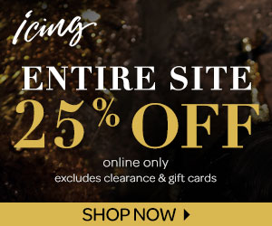 25% off Sitewide at Icing (12/15-12/18)
