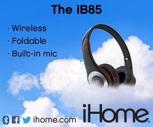 300x250Static iB85 Bluetooth Wireless Headphones