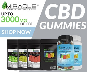 CBD Gummy - Miracle Nutritional tracker