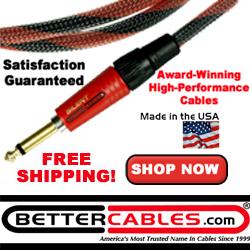 BetterCables.com Guitar Cables