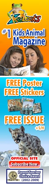 ZoobooksTrial Issue, Free Animal Poster and Stickers
