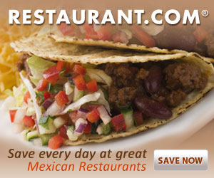 Save Everyday at Great Mexican Restaurants