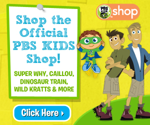 Shop the Official PBS KIDS Shop! Super Why, Caillou, Dinosaur Train, Wild Kratts & More!