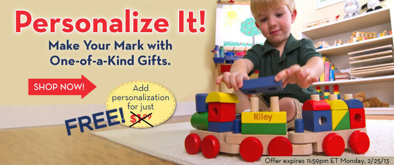 Personalize Your Toys Free