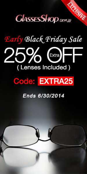 Early Black Friday sale! Extra 25% off on any order, use code EXTRA25.