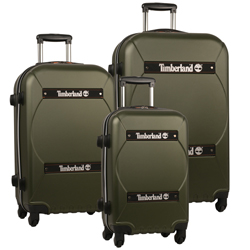 -Timberland Shelburne - 3 Piece Hardside Spinner Luggage Set Now Only $214.47 Org. $1,080.00 Plus Free Shipping. Use Promo Code TBSB at checkout.