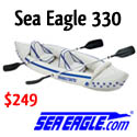 Sea Eagle 330 -- The Go Anywhere Kayak For 2