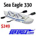 Sea Eagle 330 -- The Go Anywhere Kayak For 2