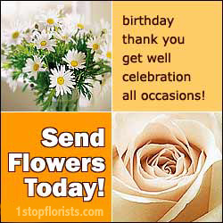 Send a beautiful flower bouquet or gift today.