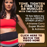 Adrianne Curry Uses The Flex Belt