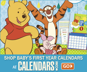 Shop Baby First Year Calendars at Calendars.com