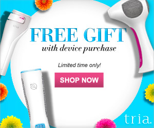 Free Skincare Gift with Purchase of Any Tria Device with Code SKINCARE