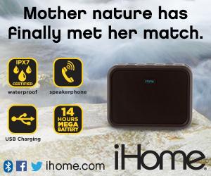 300x250Static iBN6 Rugged Portable Waterproof Bluetooth Stereo Speaker