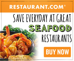 USe this coupon to Save Everyday at Great Seafood Restaurants