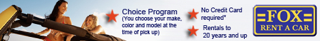Rent a Hybrid Car from Fox