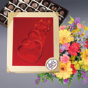 Valentine's Flowers and Chocolates