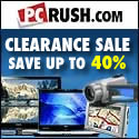 Clearance sale. Save up to 40%
