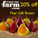 Pear Gift Boxes at FromTheFarm.com