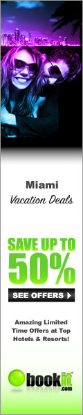 Vacation Deals for Miami by BookIt.com�