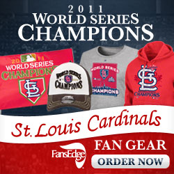 St Louis Cardinals 2011 World Series Champion Fans