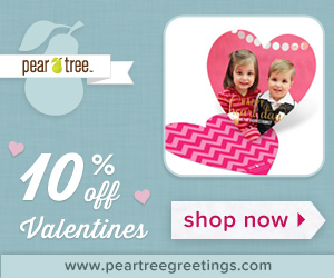 10% Off Kids Classroom Valentines Day Cards