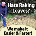 Hate raking leaves - Save time and energy with lea